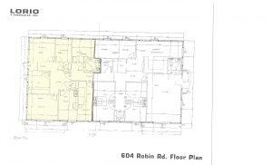Robin Road floor plan