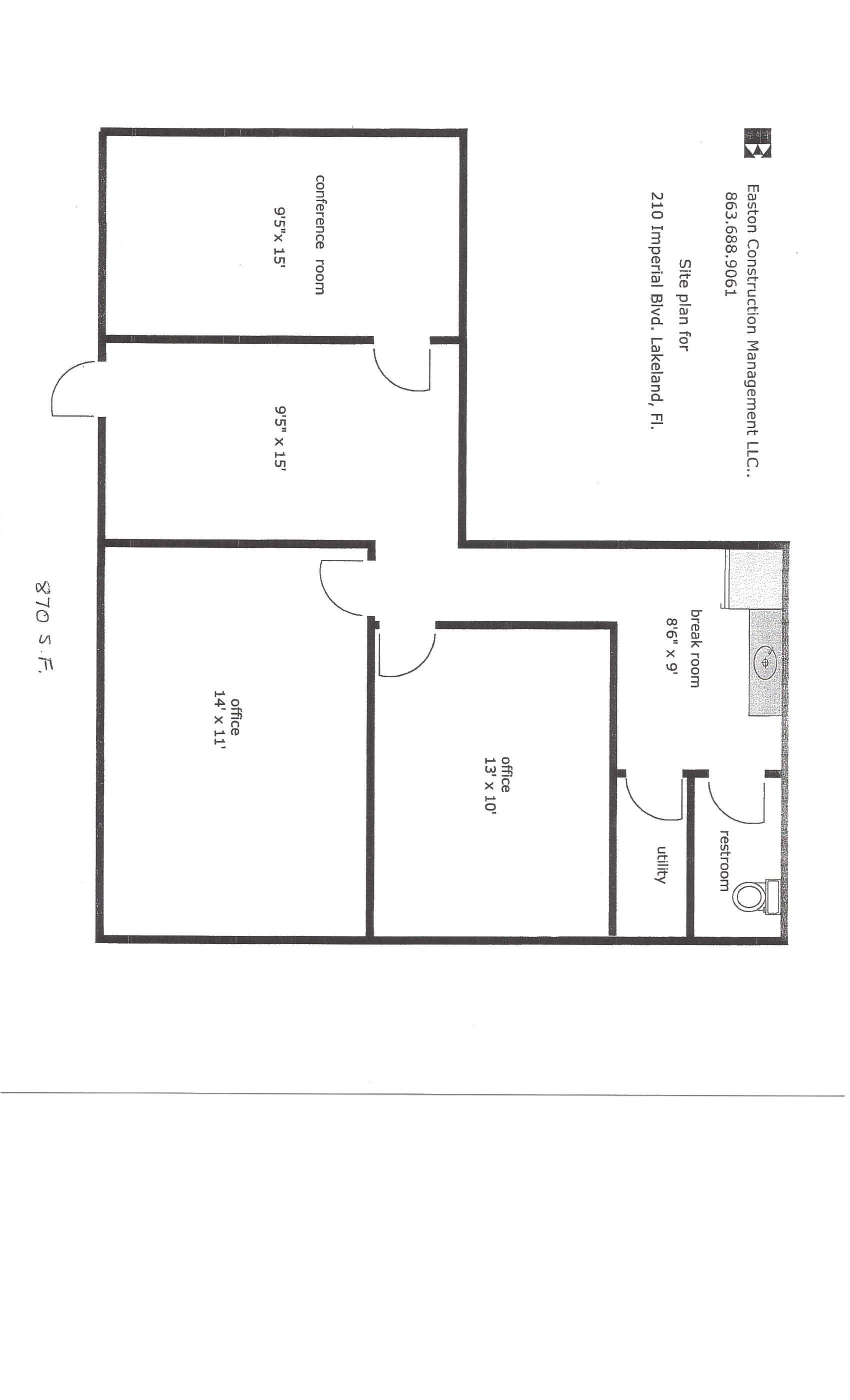 Lakeland Center Conference Room Floor Plan